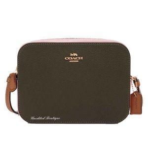 COACH Gallery Camera Colorblock Crossbody Handbag